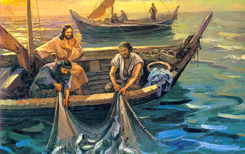 мультфильм о лодке с христом
